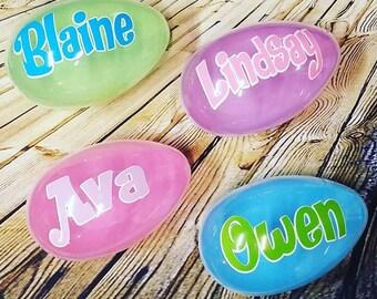 Kids Jumbo Easter Egg - Personalized Easter Gift - Jumbl Egg - Easter Basket Stuffer - Fillable Plastic Egg