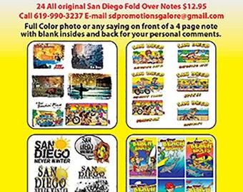 Original San Diego & California Notes