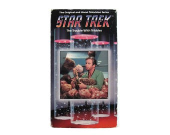 Star Trek The Trouble with Tribbles VHS Video TV Show Sci-FI Science Fiction William Shatner Captain Kirk