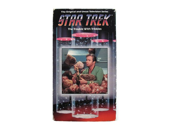 Star Trek The Trouble with Tribbles VHS