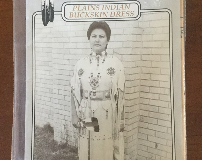 Authentic Indian Buckskin Dress Missouri River Patterns Frontier Clothing How to Make Complete Pattern