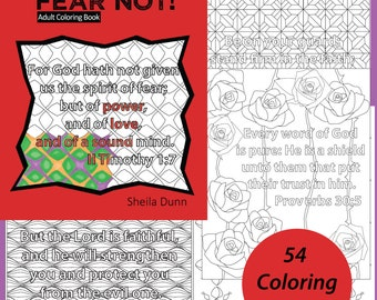 Fear Not! Christian Coloring Book