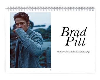 Brad Pitt Vol.1 - 2018 Calendar