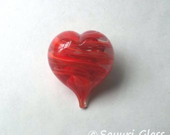 Mini Heart Paperweight Red : DISASTER RELIEF