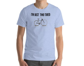 Funny Vintage Bicycle Short-Sleeve T-Shirt for men women and children