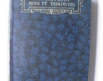 Mr Britling Sees It Through by HG Wells WW1 Fiction 1933 Hardback
