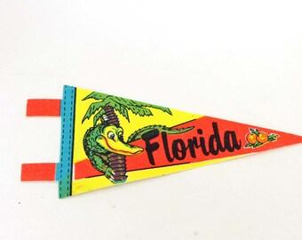 Vintage Florida Pennant