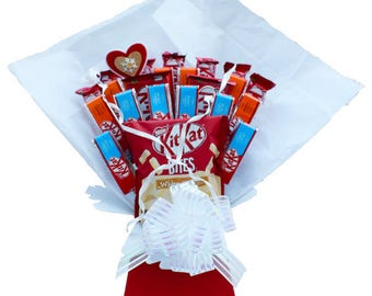 Nestle Kit-Kat Chocolate Bouquet - Sweet Hamper - Perfect Gift - Chocolate Gift