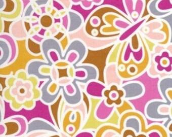 Weekends Kaleidoscope in Brown by Erin McMorris for Free Spirit - 1 Yard