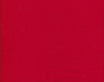 Red Cotton Lycra knit Solids 22 colors fabric