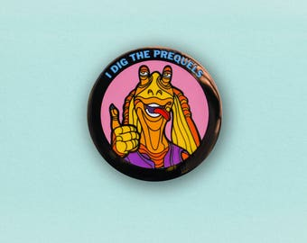 Star Wars Prequel Enamel Pin - Jar Jar Binks lapel pin