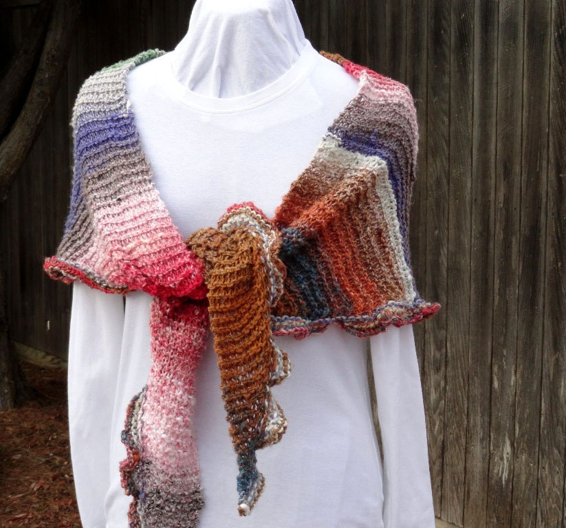 Easy to Knit Shawl Pattern, Free Knitting Pattern ...