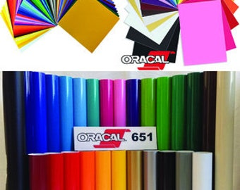Oracal 651 Adhesive Vinyl. Great low prices and quick shipping.