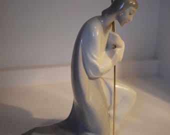 "Lladro Joseph Figurine, Marked 7.25"" Tall"