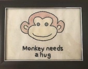 Black Mirror- Monkey needs a hug