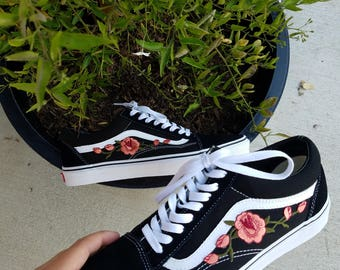 rose patches for vans
