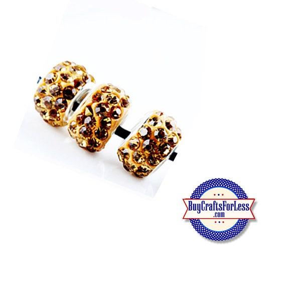 Glittery GLASS BEADs, GOLD, 6, 12, 24 pcs +FREE SHiPPing & Discounts*