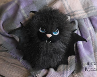 toy bat mavis artificial fur