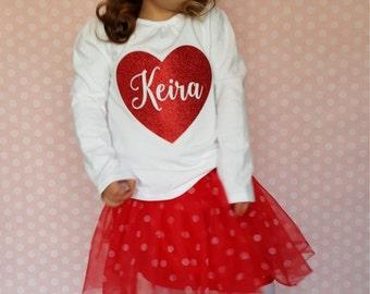 Items Similar To Monogrammed Valentine S Day Shirt Iron On Monogram