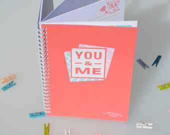 You And Me Long Distance Journal
