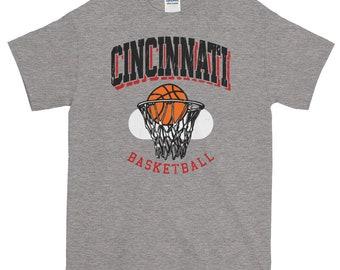 Vintage Cincinnati Basketball Short-Sleeve T-Shirt