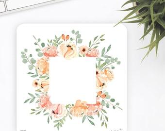 FW39 | Wreath Sticker | Decorative Sticker | Watercolor Sticker | Flower Sticker | Planner Stickers | Bullet Journal Stickers