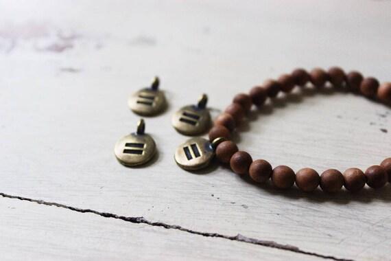 Mala Bracelet - Equality Charm
