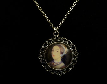 Catherine Howard Queen of England 1540 until 1541 Pendant Necklace 24 inch King Henry VIII