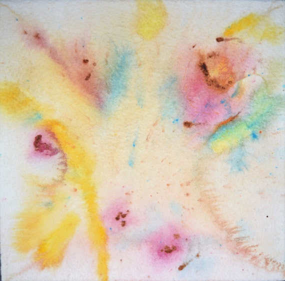 """Painting, watercolor, """"Explosion"""""""