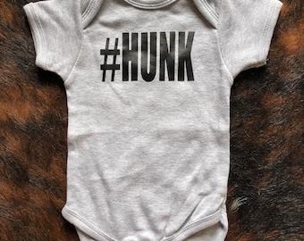 Hunk boy onesie