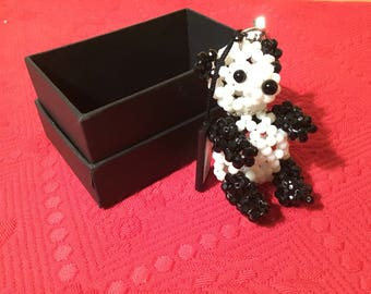 Appartement A' Louer Crystal Panda Keychain
