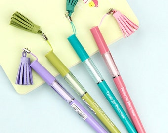 Tassel Gel Pen - 4 Colours
