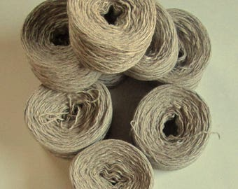 TUSCAN TAN  Cotton Wool 2476 yards recycled yarn
