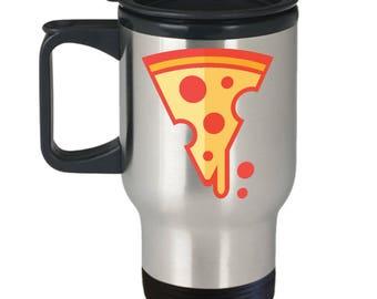 Pizza Travel Mug | The Fastest Pizza Alive | Pizza Mug | Pizza | Pizza Party Favor | Pizza Lover | Pizza Party | Pizza Lovers | Print Art