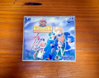 Authentic PC ENGINE game cd Dragon Slayer: The Legend of Heros II [Japanese, 1991]