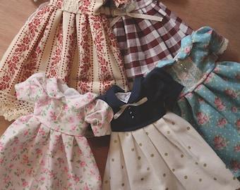 Dress with Peter Pan collar - Pullip & Blythe