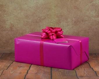 Premium Collection Gift Wrap Kit - Fuchsia