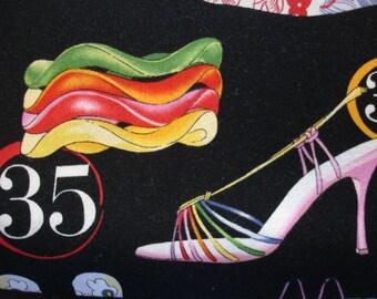 ALEXANDER HENRY Fabric Shopping Spree 2004 Rare - 1 Yard - #M26