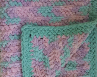 Ultra Plush Baby Blanket handcrafted by Ilafa Co
