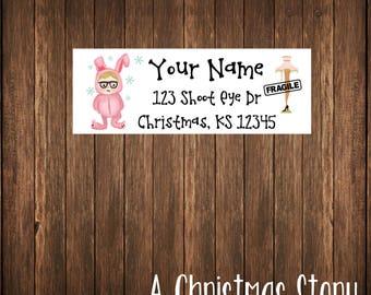 Christmas Address Labels, Mailing Labels