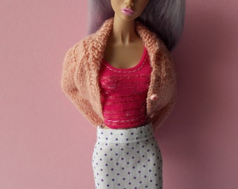 Handmade skirt for Momoko, Barbie, Poppy Parker, Pullip (not suitable for Fashion Royalty)