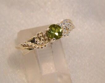 Forest Sprite - Tourmaline gemstone ring