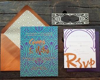 Ginny Wedding Invitation Sample