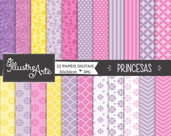 50% OFF - Princess the first Digital Paper
