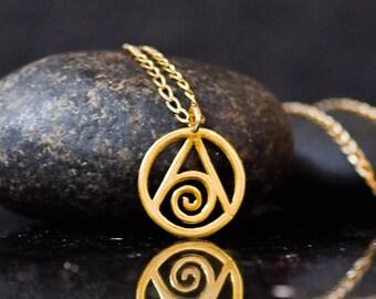 14k gold Zodiac Necklace, Water element, Cancer zodiac necklace, Scorpio necklace, Pisces necklace, 14 kt gold, Zodiac jewelry, zodiac charm