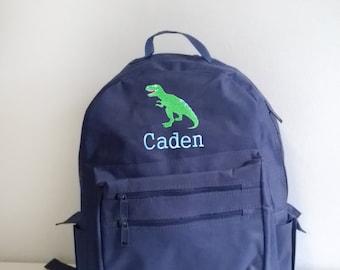 Personalized toddler backpacks, dinosaur backpack, boys backpack, personalized backpack, boys backpack