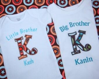 Big Brother Shirt - Big Brother tShirt - Personalized Brother Shirt - Big Brother Little Sister