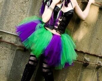 Monster tutu skirt Adult petticoat halloween purple green halloween club wear run race cosplay joker -You Choose Size- Sisters of the Moon