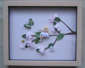 Polymer Clay Spring Fairy