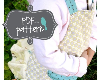 Little Girl Apron PDF (INSTANT DOWNLOAD Sewing Pattern)
